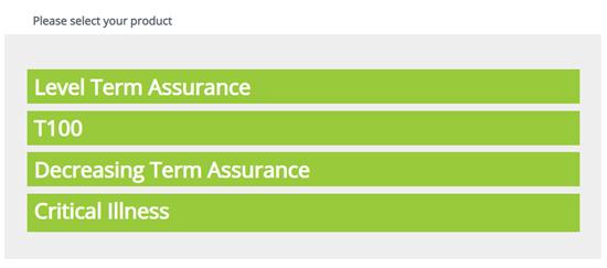 калькулятор для расчёта страхования жизни компании Unilife, который можно открыть онлайн