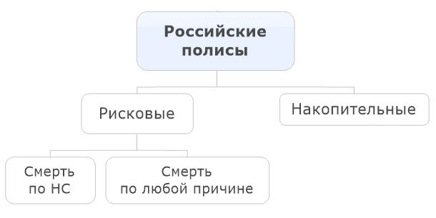 При использовании российских полисов цена страхования жизни будет очень высокой